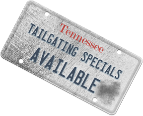 Tailgating License Plate